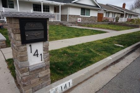 CPF Stone Mailbox