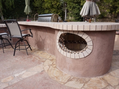 Dos Vientos Newbury Park custom outdoor BBQ with Ice Well