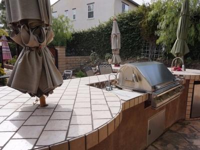 Dos Vientos Newbury Park custom outdoor grill setup
