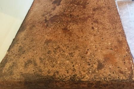 Concrete Kitchen Counter Closeup