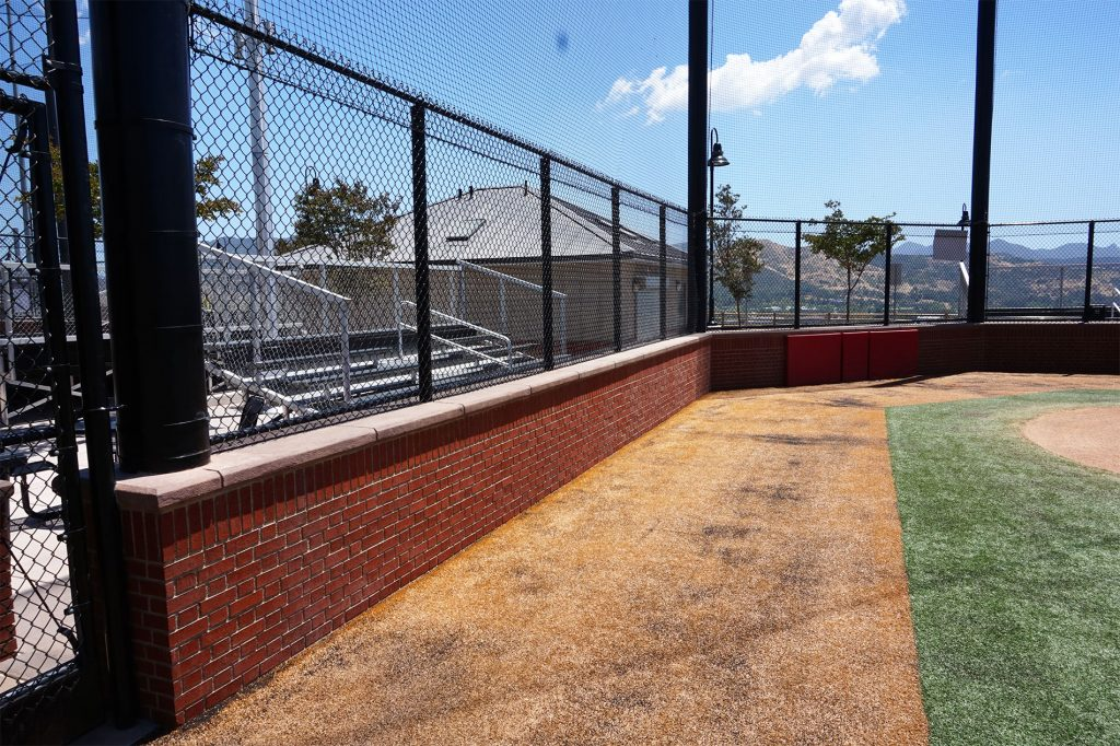 Triunfo YMCA backstop
