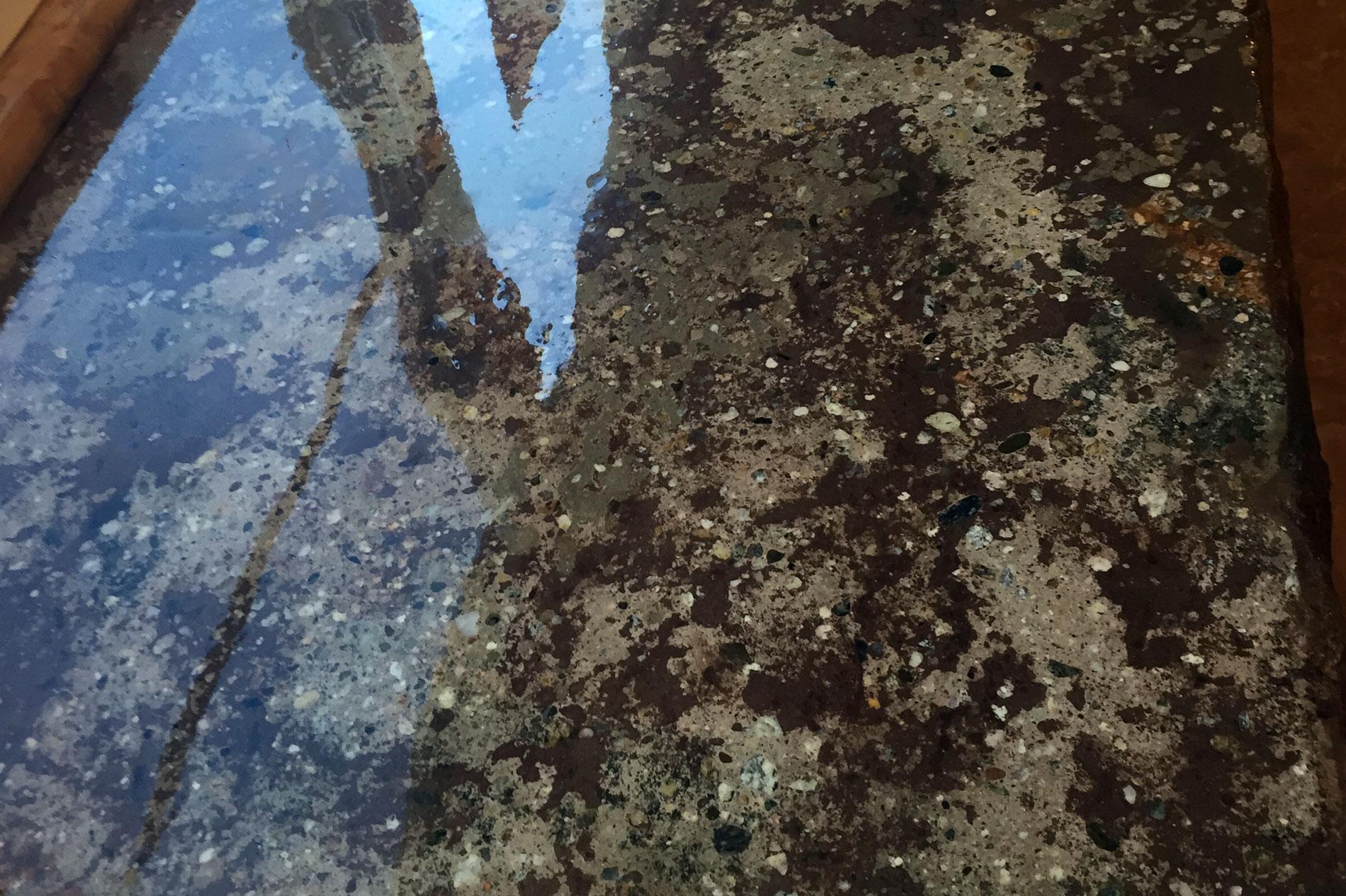 Concrete Countertop Closeup