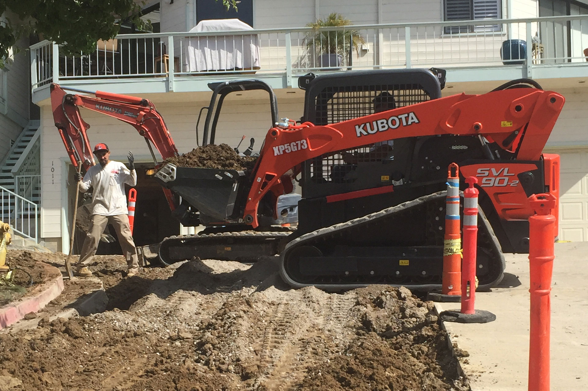 Kubota Excavation 1